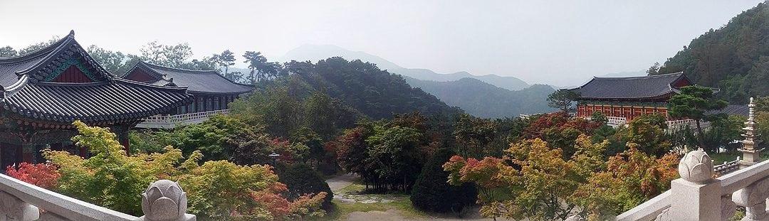 Korean Zen Temple